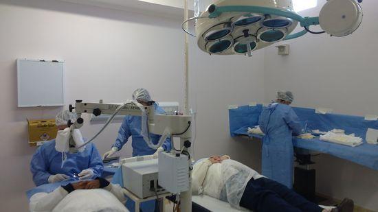 O próximo mutirão de cirurgia de catarata será no dia 7 de julho