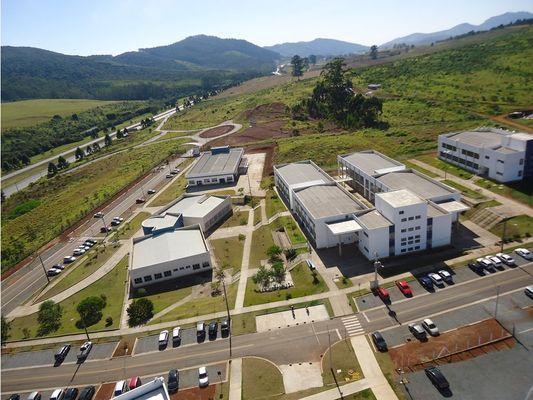 Campus da Unifal em Poços de Caldas