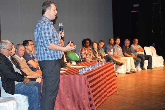 Evento na Urca contou com parcela representativa da comunidade para discutir reciclagem