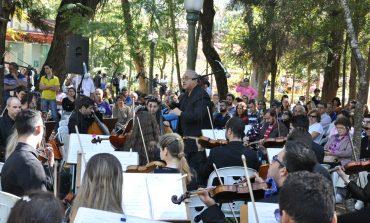Orquestra Sinfônica faz concerto no Parque José Affonso domingo
