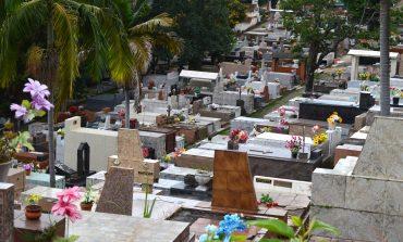 Reformas e construções de túmulos estarão suspensas no Cemitério da Saudade a partir do dia 25