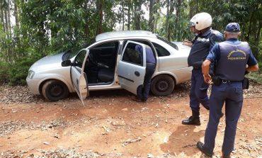 Guarda Civil recupera veículo roubado