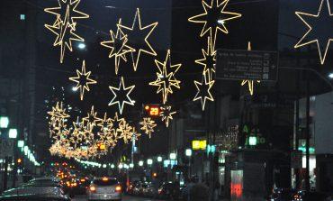 Decoração de Natal chega à rua Assis