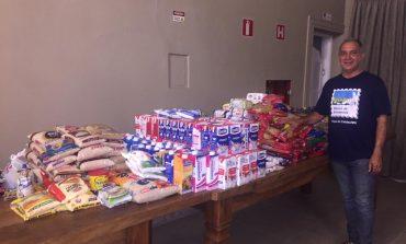 Evento arrecada 522 quilos de alimentos para o Banco de Alimentos de Poços