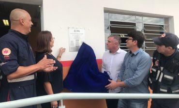 Prefeito inaugura oficialmente novas instalações do SAMU