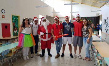 Servidores da UBS Kennedy II fazem festa de Natal para crianças de Centro de Educação Infantil