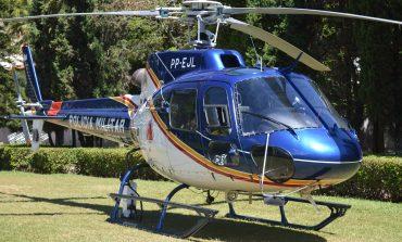 Segurança pública de Poços ganha reforço de helicóptero Pegasus-9