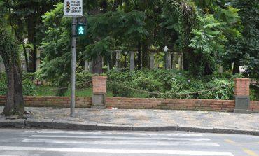 Rua Junqueiras ganha sinal para travessia de pedestre