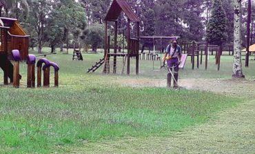 Serviços Públicos assume manutenção do Parque Municipal e Country Club