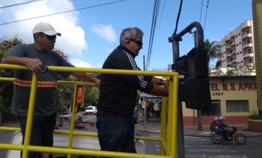 Avenida Francisco Salles ganha mais um sinal para pedestres