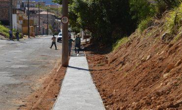 Bairro Centenário terá mais 300 m de novas calçadas