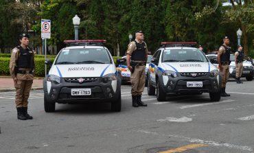 Poços recebe nova viatura para Polícia Militar