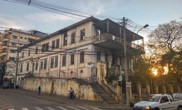 Defesa Civil libera limpeza do Sobrado do Conde Prates