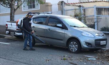 'Sopradores' melhoram a qualidade da limpeza nas vias pública