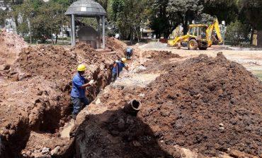 DMAE substitui rede de esgoto do Balneário Mário Mourão
