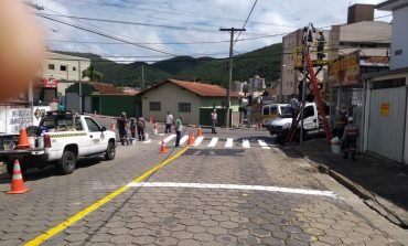 Cruzamento complicado da av. Ubirajara Machado ganha novo conjunto de semáforos