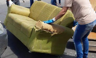 Saúde e Serviços Públicos retiram 35 toneladas de lixo e entulho da Zona Leste