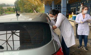 Terceira edição do drive de vacina é realizada nesta quarta