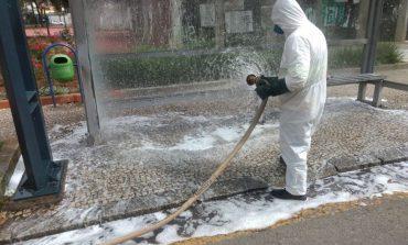 Covid-19: Prefeitura prossegue trabalho de desinfecção nos bairros e área central