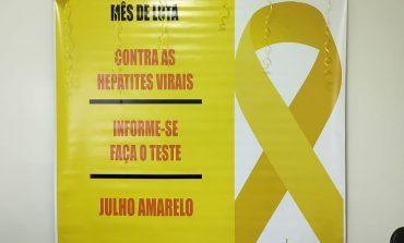 Julho Amarelo é Mobilização para Combate das Hepatites Virais