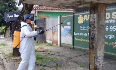 Higienização das ruas é ampliada para o Marco Divisório