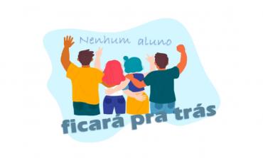 """Secretaria Municipal de Educação lança a campanha """"Nenhum aluno ficará pra trás"""""""