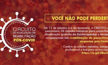 FISIOTERAPEUTAS RECEBEM CAPACITAÇÃO PARA REABILITAÇÃO PÓS-COVID