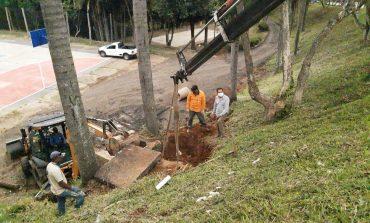 Prefeitura dá continuidade na revitalização do Bosque do Jardim Ipê