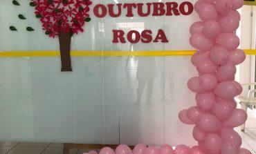 Saúde realiza Campanha de Mamografia para celebrar o Outubro Rosa