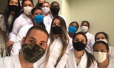 SAD recebe visita dos alunos do curso técnico em enfermagem