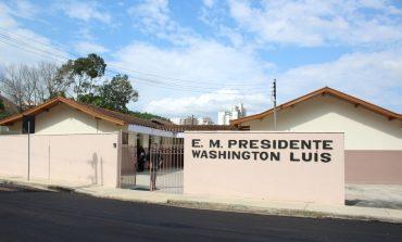 Prefeitura entrega reforma completa da E.M. Washington Luís, no Santa Ângela